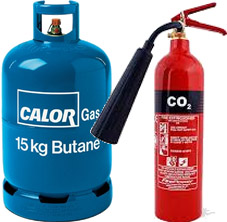 Fire Extinguishers and Gas Cylinders
