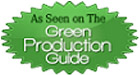 As seen on the Green Production Guide