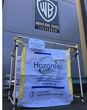 Hazgreen is based at Pinewood Studios and services the needs of film and TV productions at all studios in the South East of England.