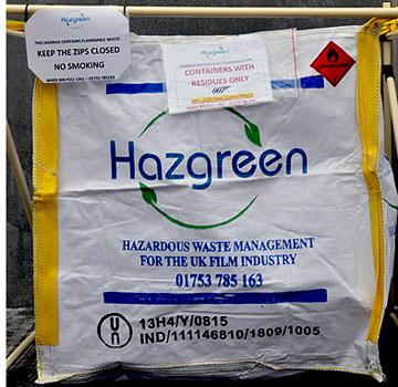 store hazardous waste on site