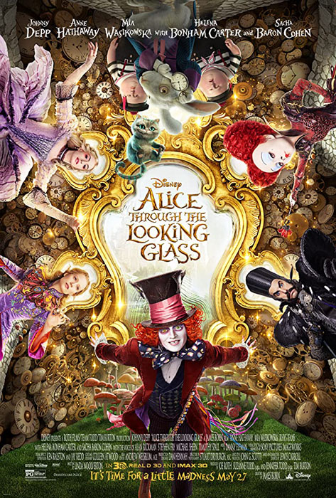 Alice Through the Looking Glass – Walt Disney Pictures (2016)