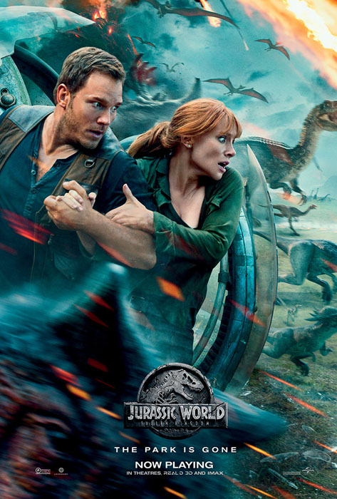 Jurassic World: Fallen Kingdom – Universal Pictures (2018)