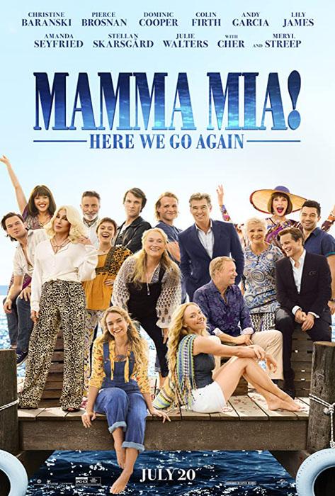 Mamma Mia: Here We Go Again – Universal Pictures (2018)